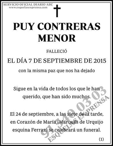 Puy Contreras Menor